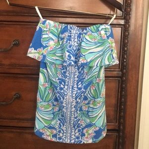 Lilly Pulitzer small tube top